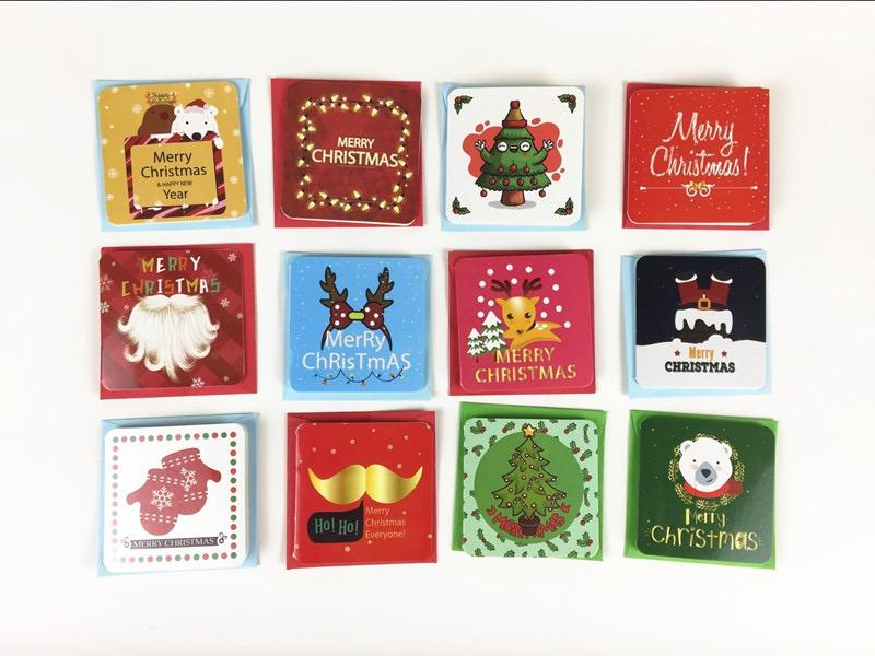 product-Dezheng-Customized Greeting Cards Gifts For The New Year Christmas Small Cards-img-1