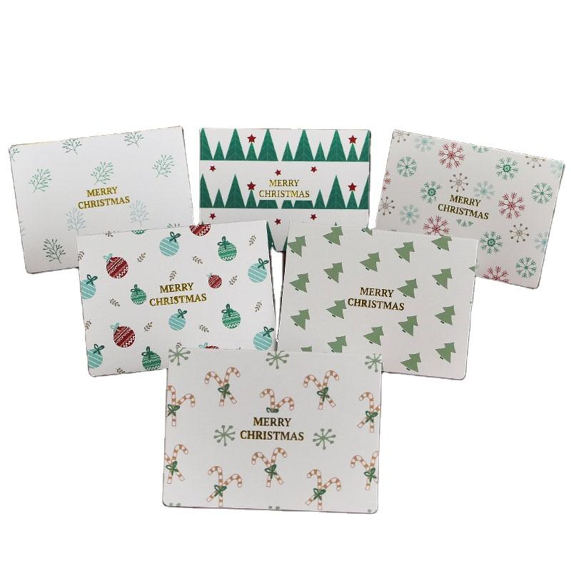 Cheap Price Customized Christmas Decoration Promotional Gift Christmas Cards Set