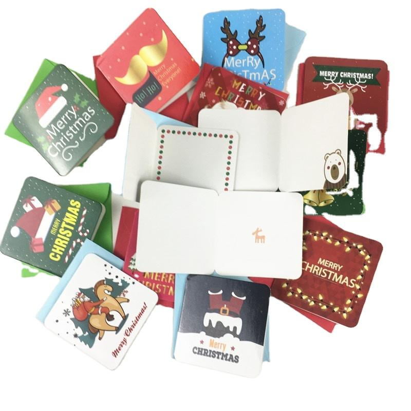 Customized Greeting Cards Gifts For The New Year Christmas Small Cards