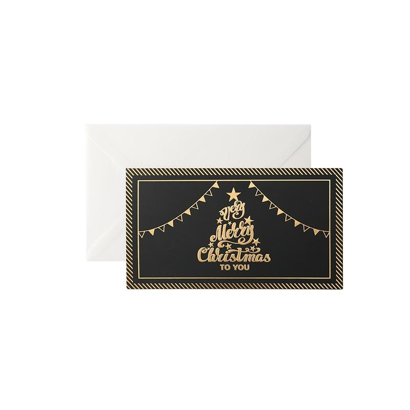 product-Gold stamping Quilling Christmas Prints Gift And Greetings Cards Thank You Cards-Dezheng-img-1