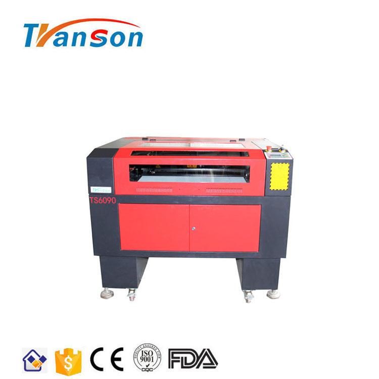 Transon TS6090 RF Metal Tube DAVI 30W CO2 Laser Engraving Cutting Machine Manufacturers