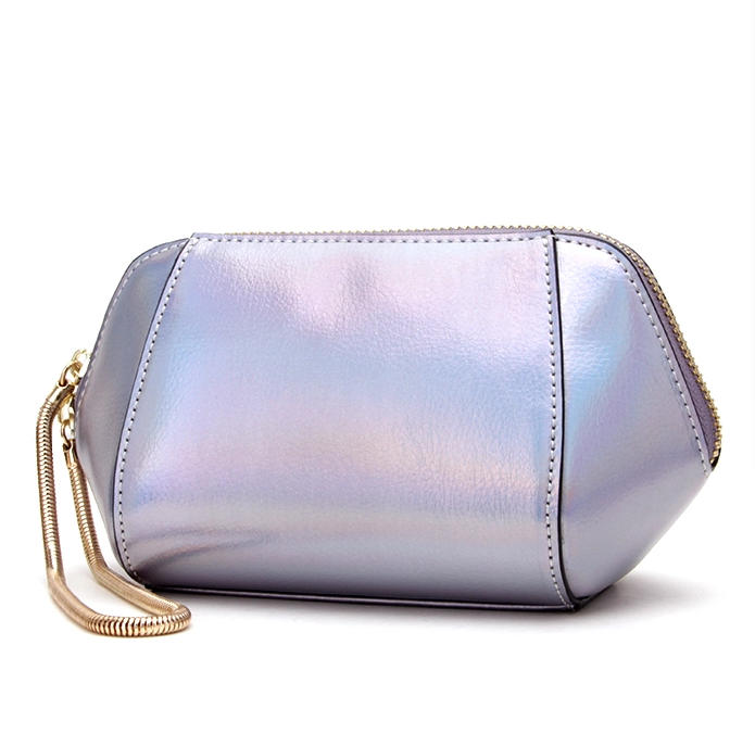 Fashion Women Makeup Case Laser Cosmetic Bags 2020 New Style Cosmetic bag Lady Custom Makeup Bag PU Leather Cosmetic Bags