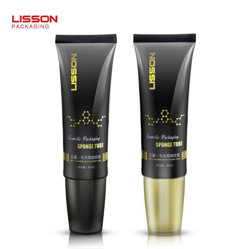 40ml plastic brush hair care tube packaging scalp care hair dye container