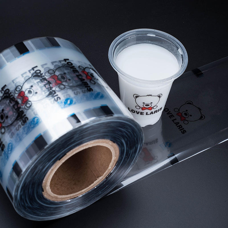 Accept custom printing peelable lidding film for jelly cup
