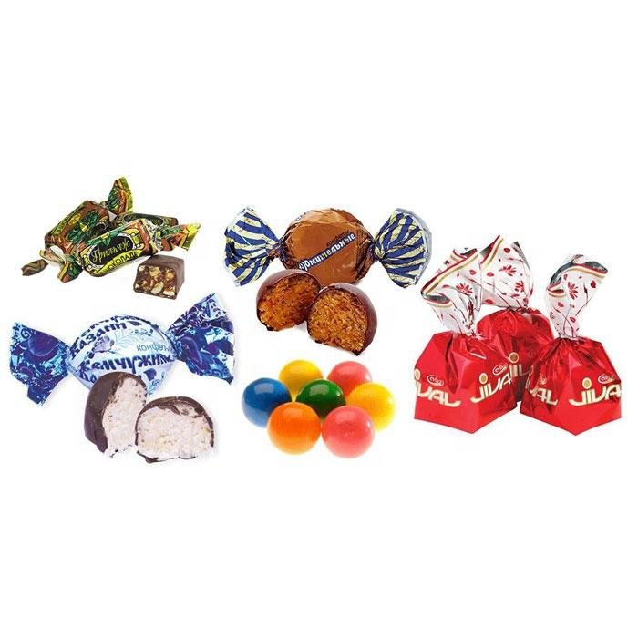 Custom printed food grade twist film packing for candy