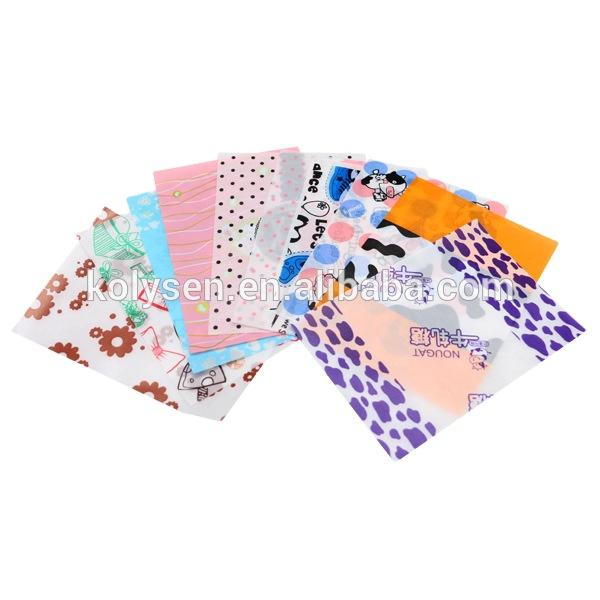 KOLYSEN Colorful Wrapping Paper For Candy
