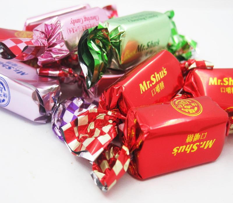 Customizable food grade plastic film candy twist film