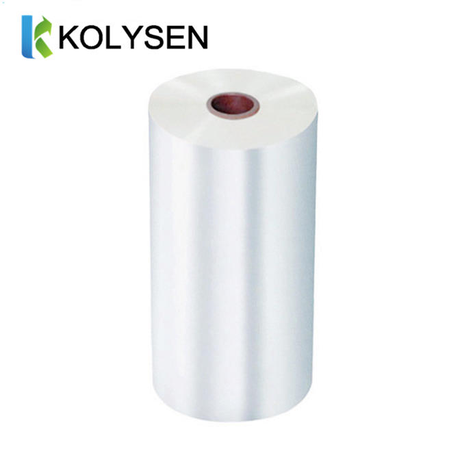 Matt Gloss BOPP thermal lamination Film for packaging printing