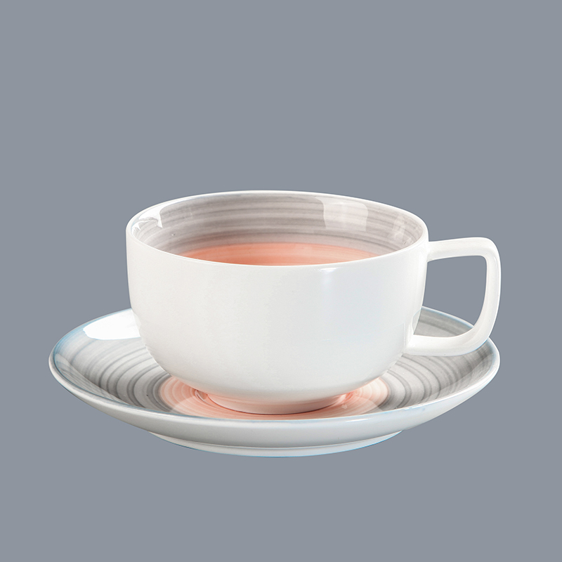 banquette restaurant new design modern porcelain tableware soup bowl