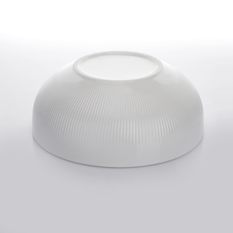 Ceramic Dinner Porcelain Round Bowl,Porcelain Salad White Bowl,The Dinner Bowl for Restaurant or Hotel