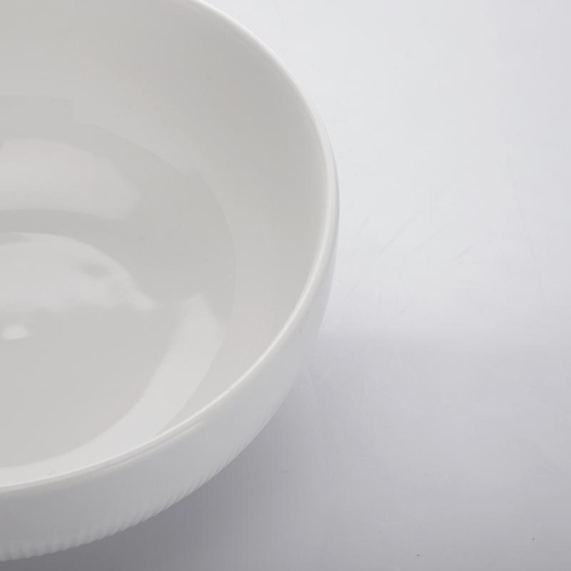 Bowl Sets Porcelain Dinnerware Restaurant,Ceramics Round Size Bowl,The Dinner Bowl for Restaurant or Hotel