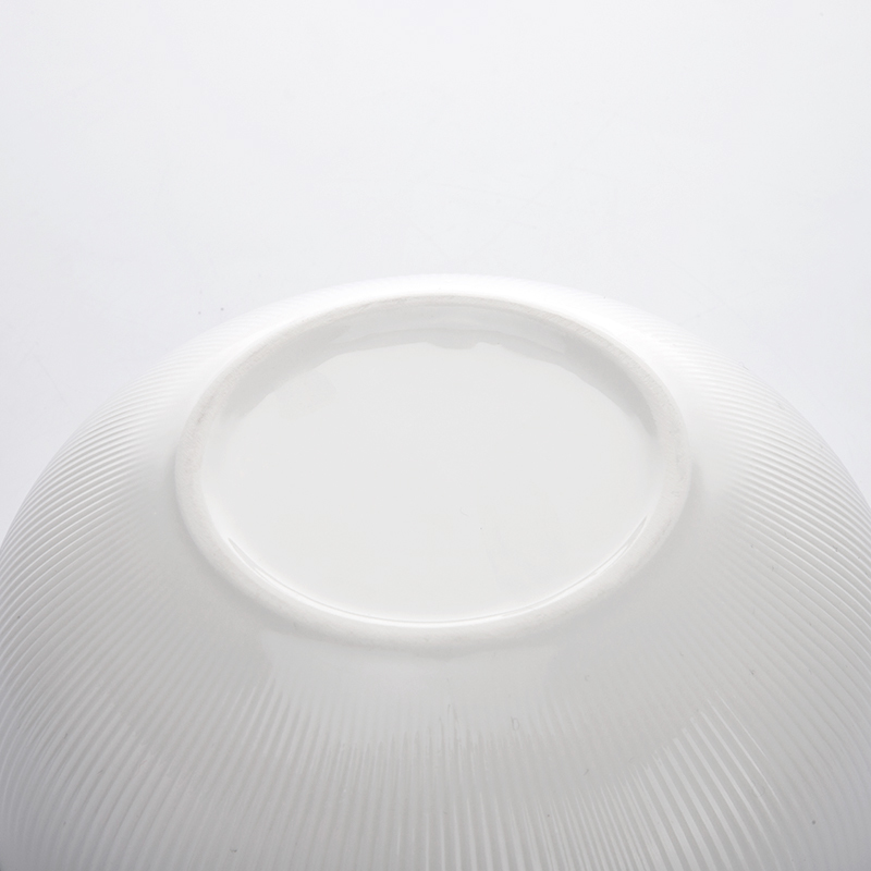 China Updated Salad Ceramics Round Bowl,Porcelain Cereal White Dinner Bowl,The Dinner Bowl for Restaurant or Hotel