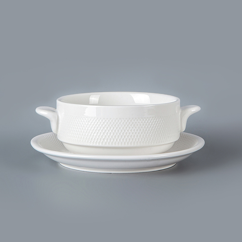 cheap ceramic nest soup bowls nest restaurant used with handle
