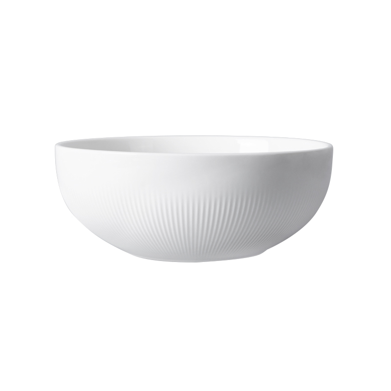 8.25 inch Factory Directly Salad Porcelain Bowl,Ceramics Round Bowl,The Dinner Bowl for Restaurant or Hotel