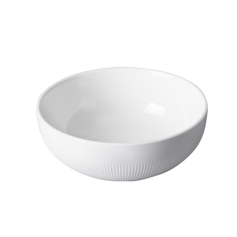 Directly FactorySoup Porcelain Bowl,Ceramics Round Bowl,The Dinner Bowl for Restaurant or Hotel