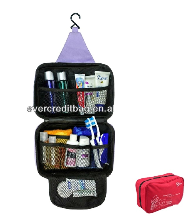 Foldable Up Hanging Cosmetic Bag ,Best Travel Wash Pouch