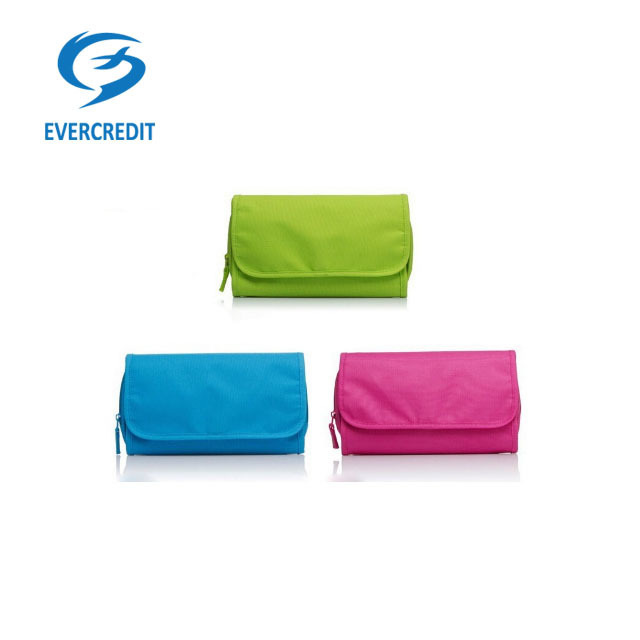 Foldable Hanging Travel Toiletry Bag Cosmetic Organizer Storage