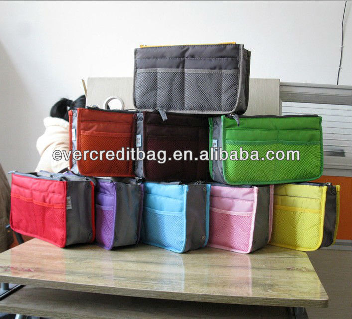 Fashion Multifunction Storage Bag ,Handbag Organizer bag in bag