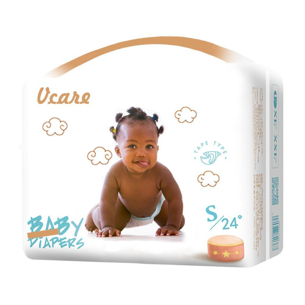 Baby Diapers OEM For Wholesale Hot Sale Good Quality Qubaby Diaper Made In China