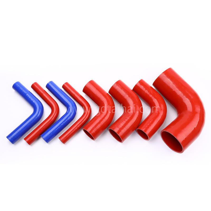 TaiHai China Professionally Auto Part Wire Reinforced Silicone Hose Silicon Auto Air-conditioning Charging Hose