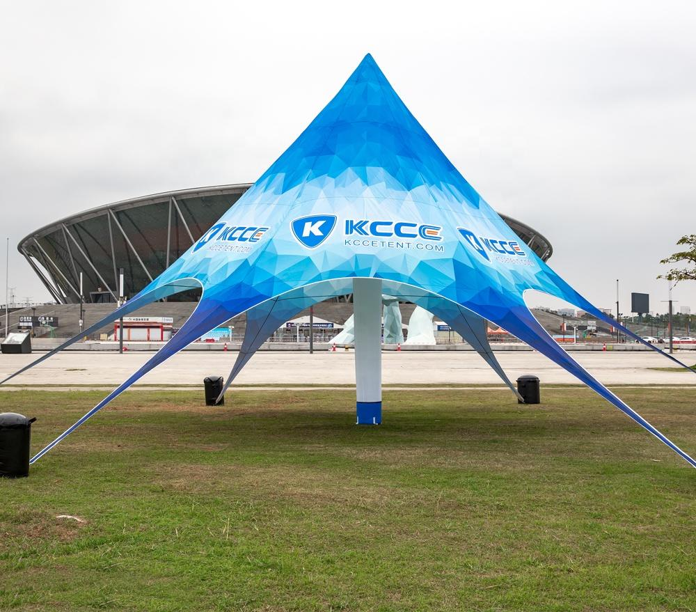 2020 new design stars outdoor Event inflatables tents fast delivery
