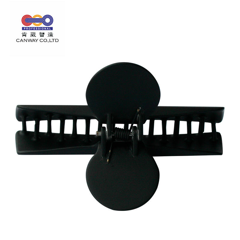 Wholesale Hair Accessories Salon Black HairGrips Styling Positioning Hairdressing Butterfly Carbon Barber Claw Hair Clip