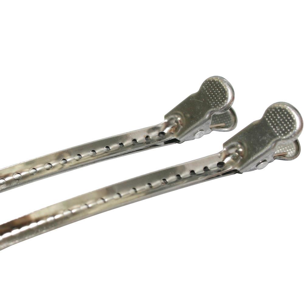 Professional hair salon hair styling tool stainless steel girl hair clip