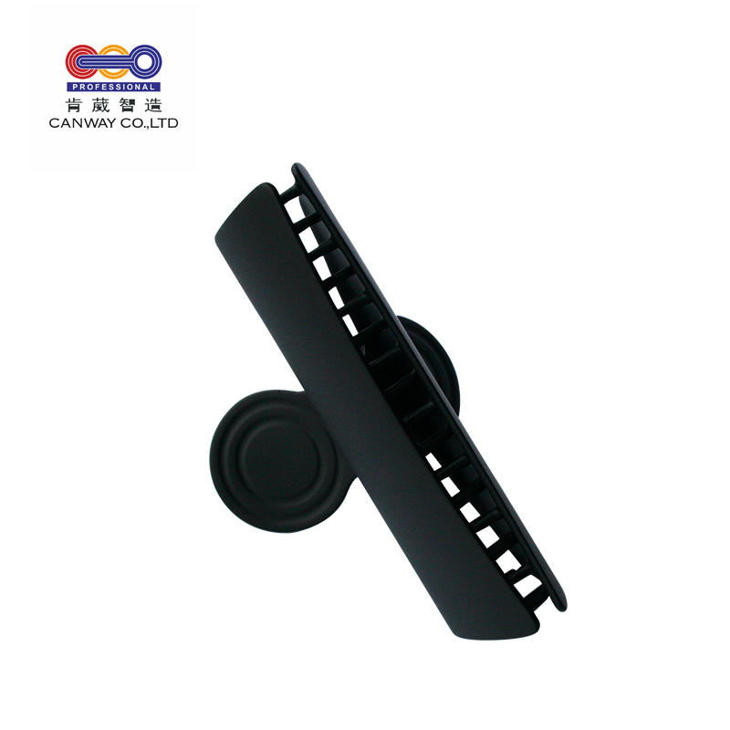 New Practical Black Plastic Crab Style Hairpin Hair Claw Clip For Ladies