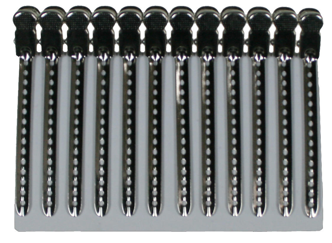 Fashion high quality factory wholesale alligator hairpin steel clip