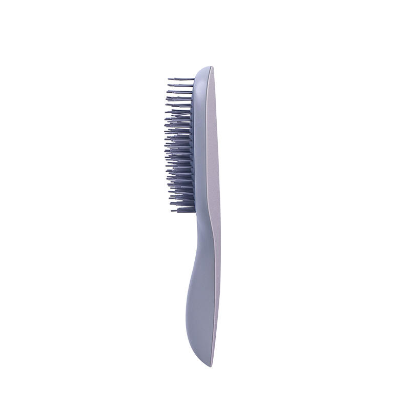 New Design Massage Scalp Hairdressing Comb Silicone zero knot hair Comb