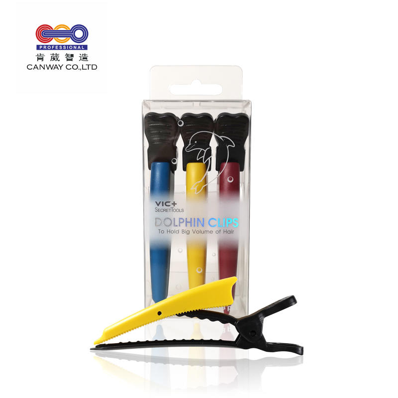 Hair Salon personal DIY hairstyle bangs fixed hair partition use Dolphin hair clip