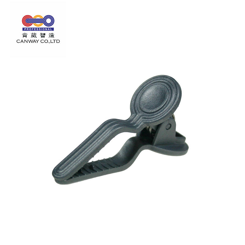 Professional plastic pp hair extension snap clips for salon use