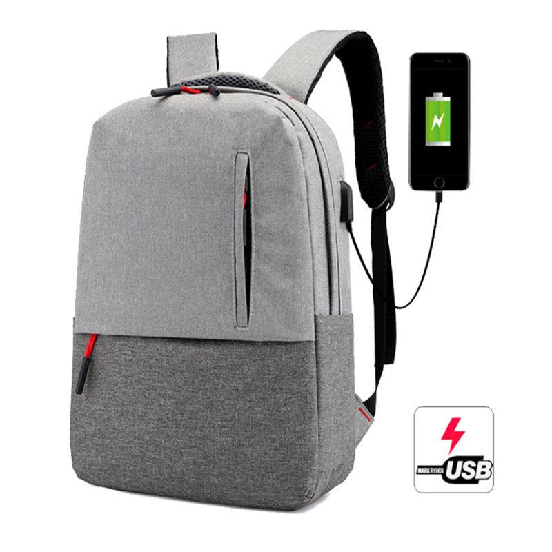Osgoodway2 Wholesale Leisure Designer Backpack USB Port Laptop Travel Backpack Bags for Students