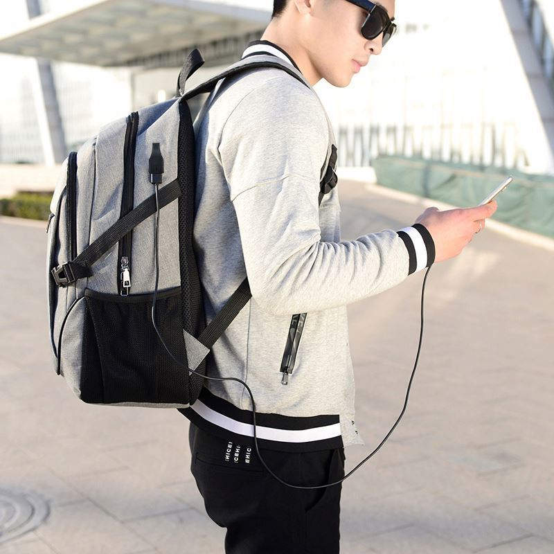 product-Osgoodway Wholesale Sports School Backpacks Business Leisure Laptop Backpack Bag With USB Ch-1