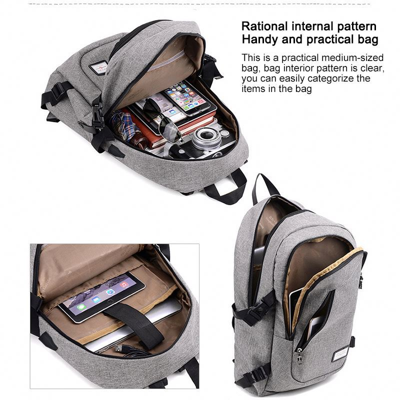 product-Osgoodway-Osgoodway2 Popular Design Wholesale Mens Laptop Travel Backpack Bag USB Charging B