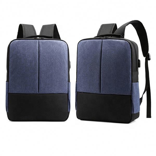 product-Osgoodway-Osgoodway Simple Style USB University Laptop Backpack Laptop Bags with Luggage Bel