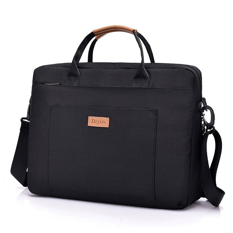 product-Osgoodway-Osgoodway Custom Logo Oxford Business Briefcase School Men Shoulder Messenger Lapt