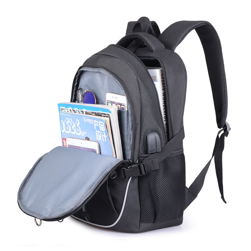 product-Osgoodway-Osgoodway Functional Student Backpack School Bags Reflective Sport Basketball Lapt