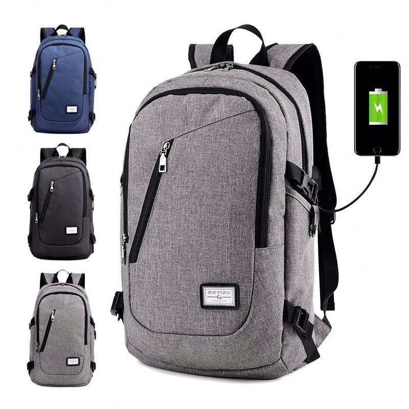 Osgoodway2 Popular Design Wholesale Mens Laptop Travel Backpack Bag USB Charging Backpack