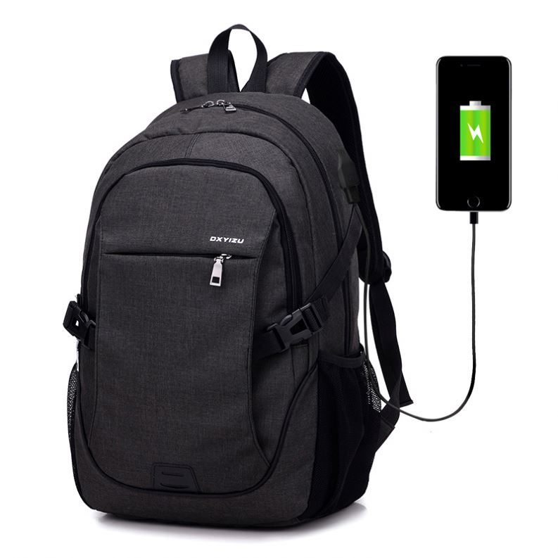 Osgoodway Wholesale Sports School Backpacks Business Leisure Laptop Backpack Bag With USB Charger