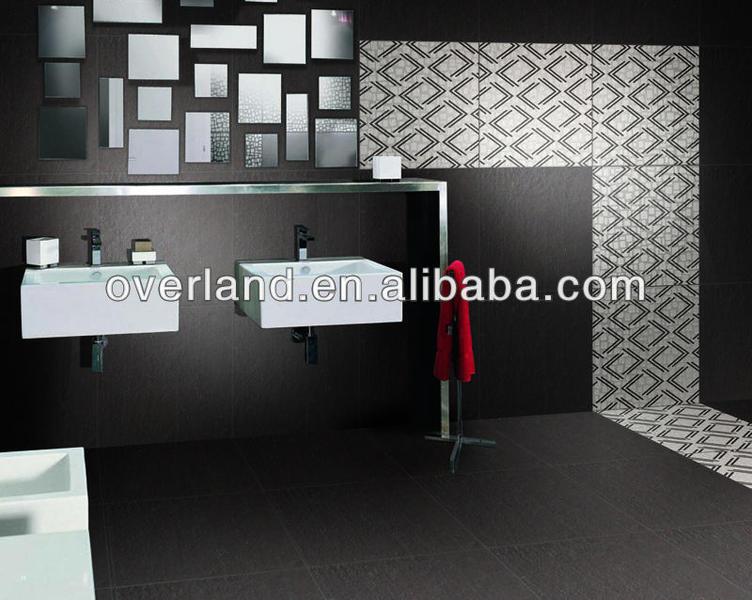Nano polished double charge vitrified tiles