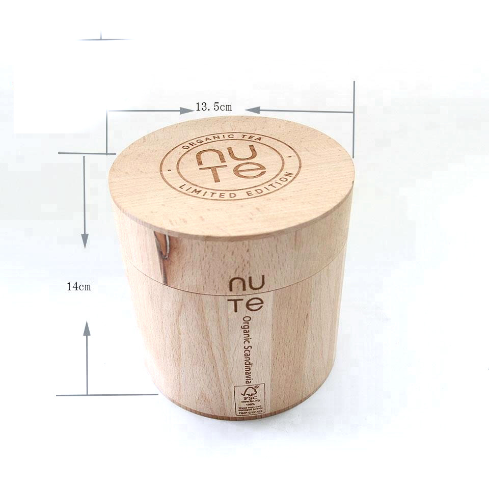 Customized unique design simple useful style packaging keg wooden jar for sale