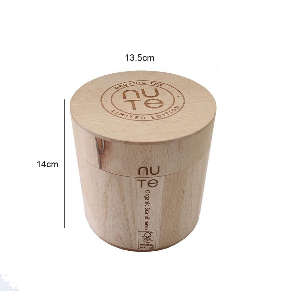 Custom promotion cheap natural beech pine oke barrel wooden