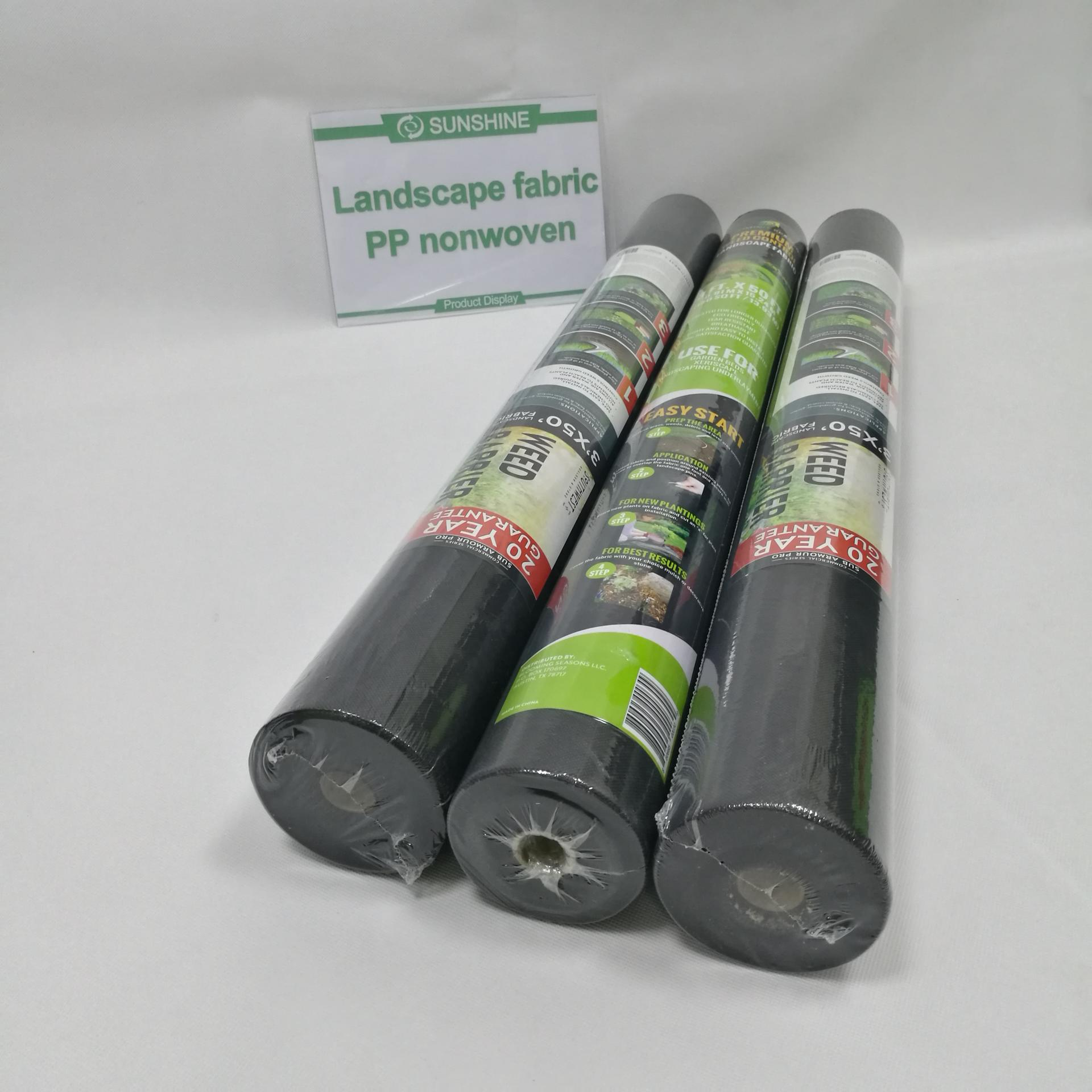 High quality polypropylene spunbonded nonwoven fabric for Agriculture cover and weed control
