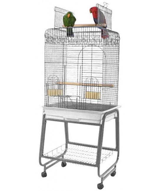 Durable Snap Lock OpenTop Ladder House Pet Large Bird Aviary CageAluminum Extrusion Profile