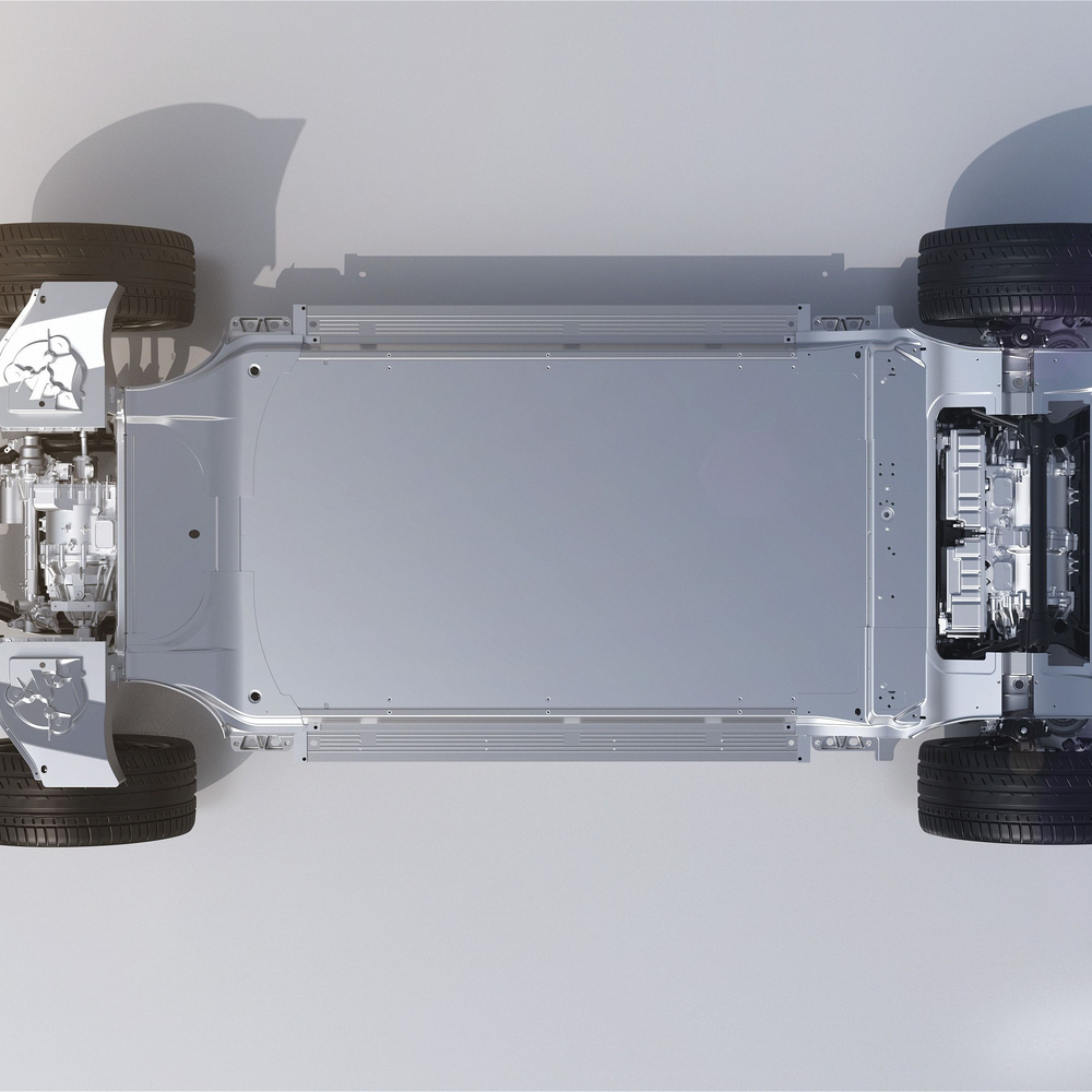 Good Quality Energy New Energy Car Battery Aluminum Tray CNC Extrusion Profile