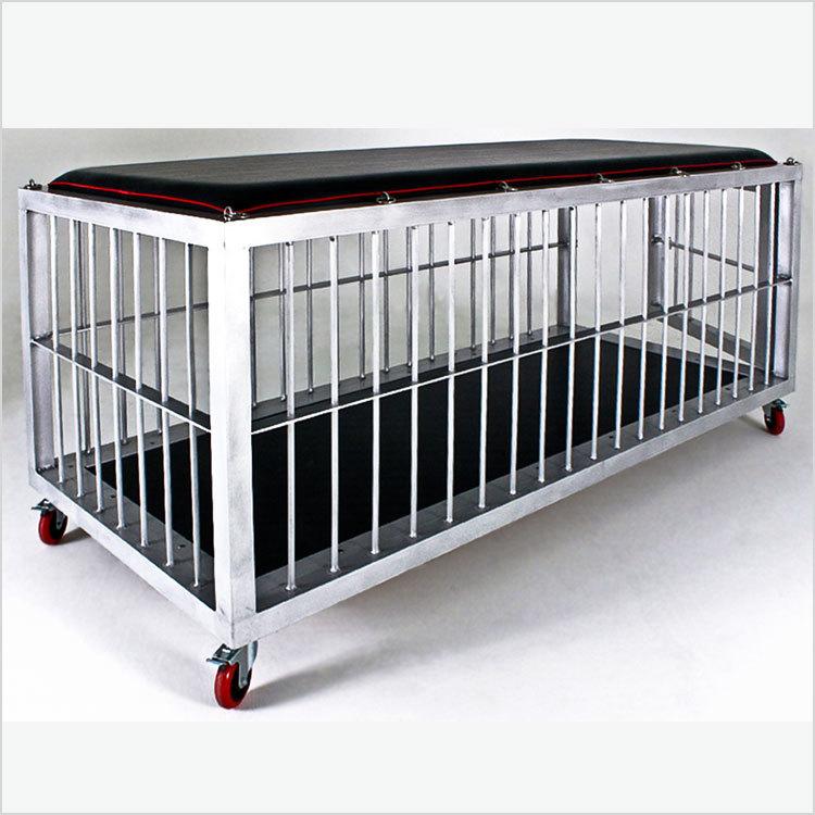 Four Locking Casters Aluminum Dog Cages Manufacturers Aluminium Extrusion Profile