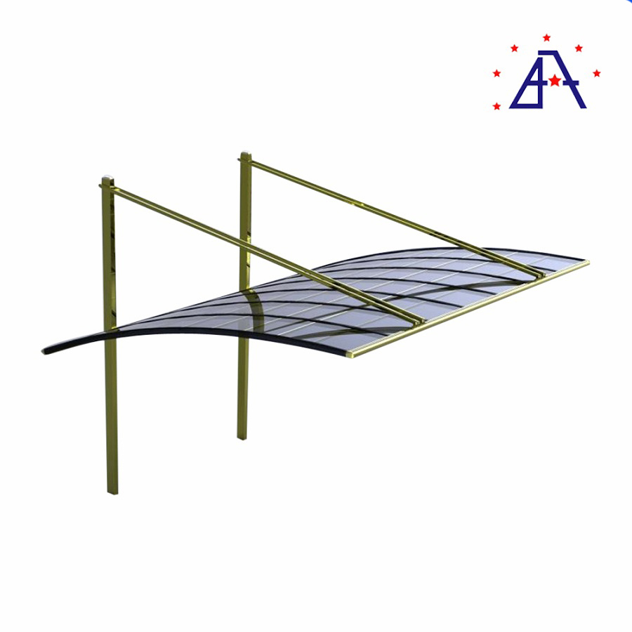 Metal carport Frame parts Aluminum Industrial Profile For Car Parking Shade Tents Canopy