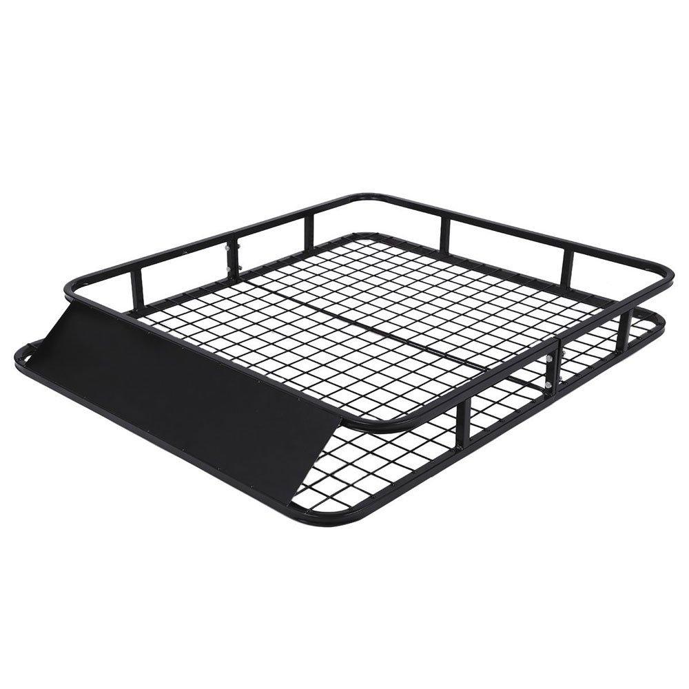 Good Price forAluminum Top Luggage Basket Roof Rack Cargo In Black