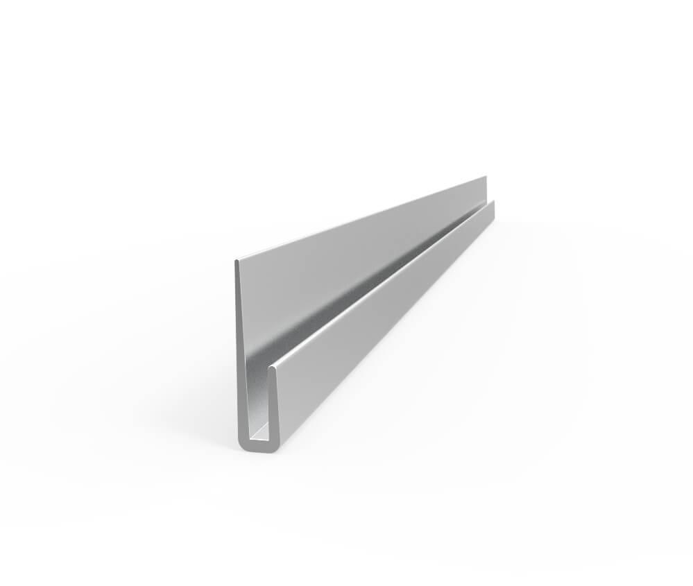 Aluminum J-Caps Products Aluminium Extrusion Profile